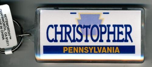 PENNSYLVANIA NAME KEYCHAIN CHRISTOPHER LN-05-199