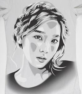 Taeyeon-T-shirt-Hand-airbrushed-with-stencils-Kim-Tae-yeon-SNSD-KPOP