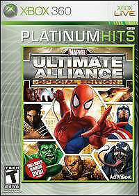 Details about Xbox 360 : Marvel Ultimate Alliance Platinum Hits ( VideoGames