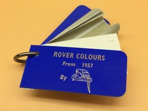 Glasso-Identification-Classic-Car-Paint-Swatches-From-1957-to-1964-Rover