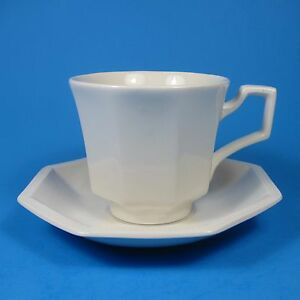 Johnson Brothers HERITAGE WHITE Cup & Saucer Set (s) Made in England ...