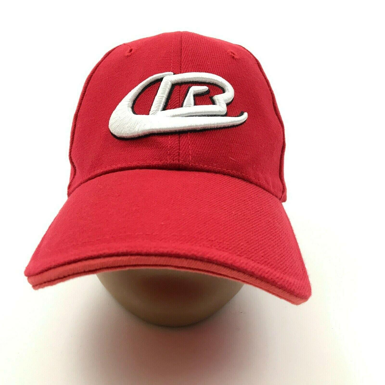 Ringers Handschuhe Hut Kappe Stretch Fit One Größe Rot Weiß Herren Bestickt Nhra