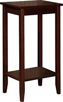Dorel Home Products Coffee Brown Tall End Table , New, Free Shipping