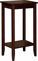 Dorel Home Products Coffee Brown Tall End Table , New, Free Shipping on sale