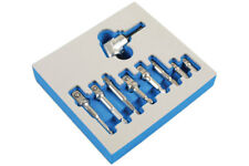 Right Angle Drill Attachment With Adaptor Set Chrome Vanadium In Storage Holder