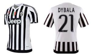 Details zu Trikot Adidas Juventus Turin 15 16 Home CoppaScudetto Dybala [164 3XL] Juve