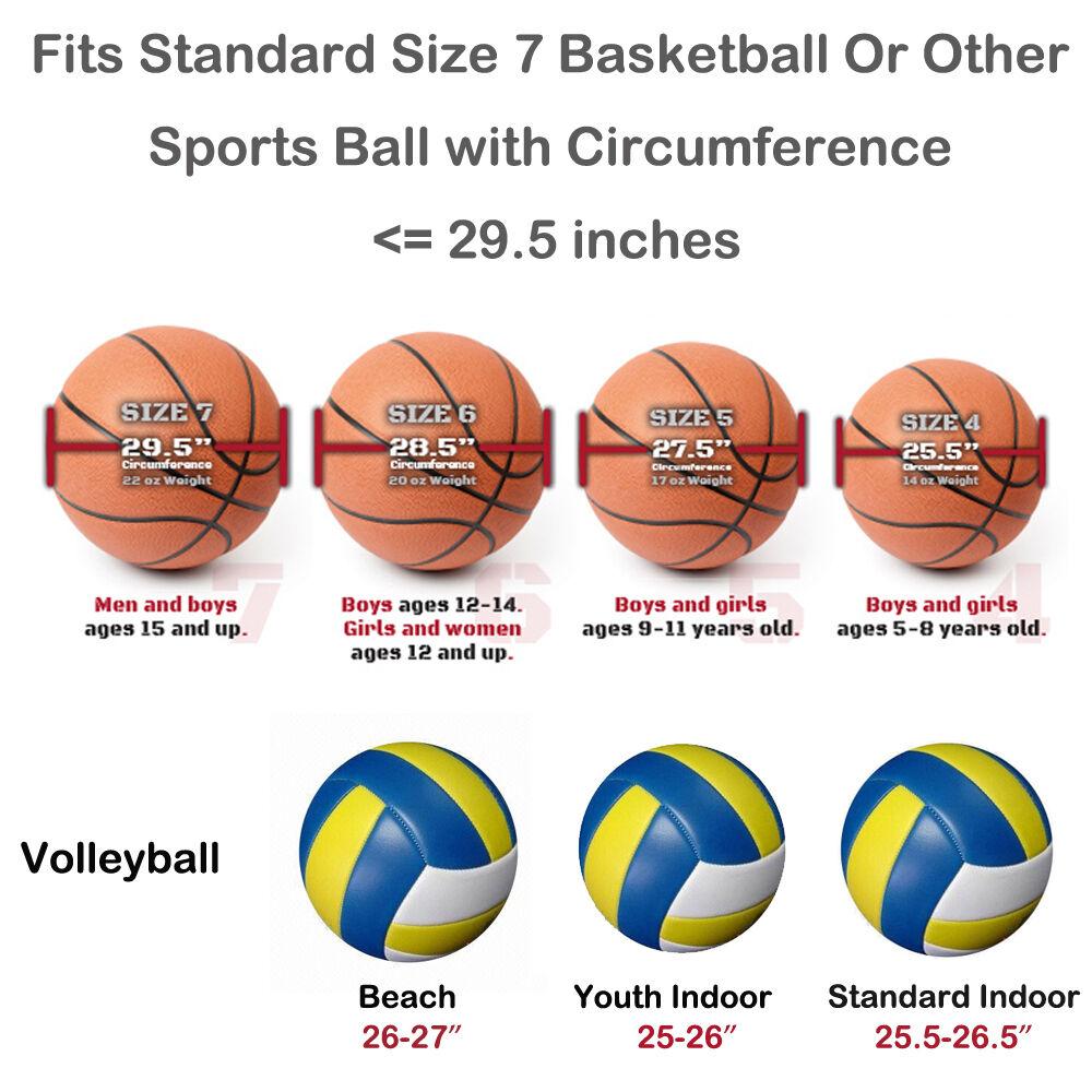 Baloncesto NBA Bolso Balón Balón Balón Fútbol Voleibol Sofbol Deportivo para Pelotas Negro c98323