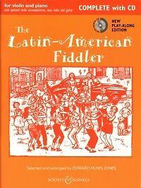 Amérique Latine Fiddler Huws Jones Complet + Cd-afficher Le Titre D'origine Avec Le Meilleur Service