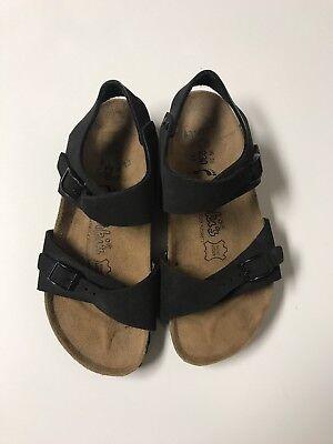Birkenstock Birki's Black Double Strap Sandals 230 Size US L5 36   eBay