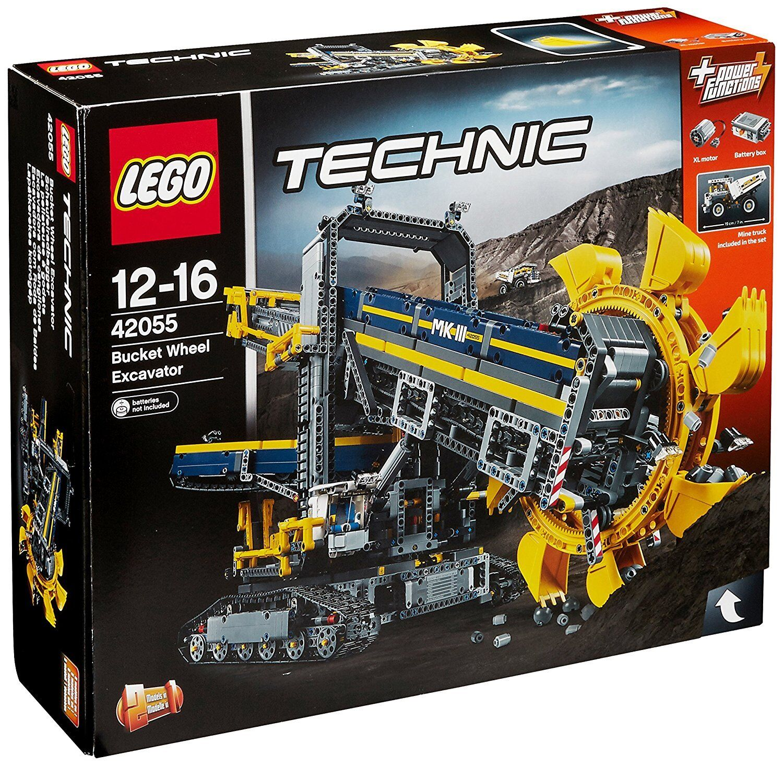 Lego - Technic 42055 - Schaufelradbagger - NEU - Lego VO d9f04f