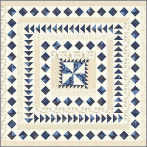 Moda-quilt-kit-Regency-Blues-by-Christopher-Wilson-Tate-KIT42300-Size-78-034-x-78-034