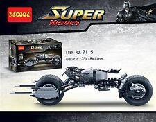 DECOOL 7115  Super hero  Batman motorcycle  Building toy BAT-POD  no box