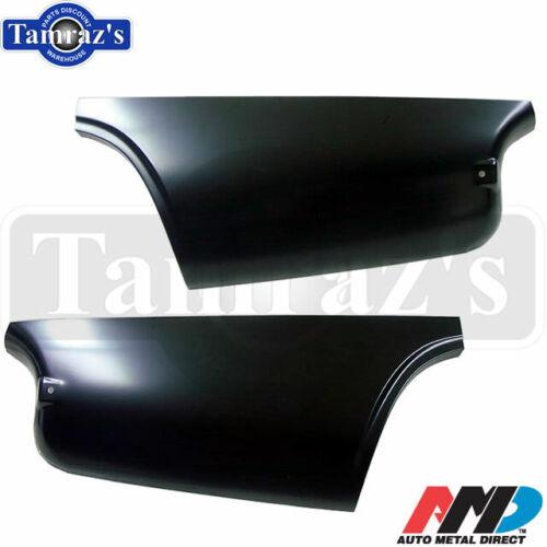 AMDNew 67-69 Barracuda Lower Quarter Panel Patch Skin Rear PAIR