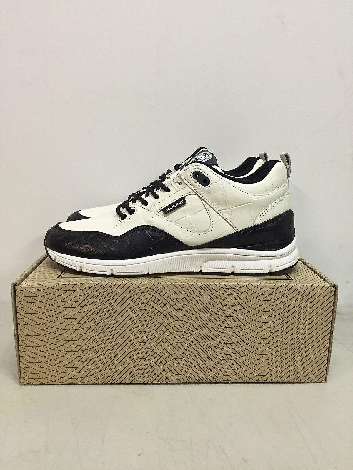 Gourmet Footwear The 35 Lite LX hommes Sneakers New blanc noir WHT/BLK 100291 8