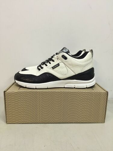 Gourmet Footwear The 35 Lite LX Men Sneakers New White Black WHT//BLK 100291 8
