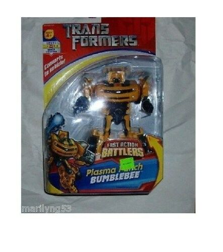 Transformers Plasma Punch Bumblebee Fast Action Battlers Figure NIP