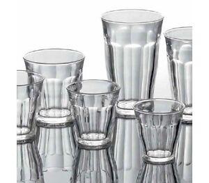 6x-Duralex-Picardie-Glaeser-Trinkglas-Glas-temperiert-22-cl-aus-Frankreich