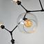 miniature 60 - Large-Chandelier-Lighting-Black-Pendant-Light-Kitchen-Lamp-Bedroom-Ceiling-Light