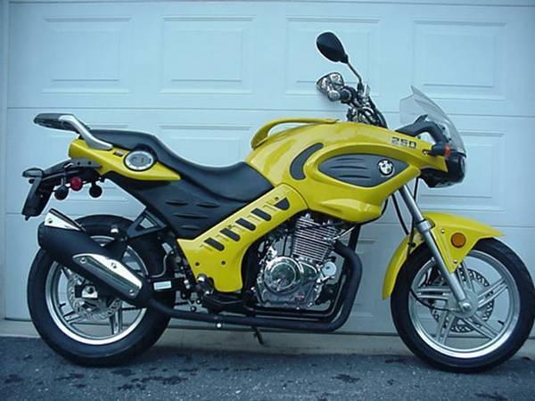 BMW CLONE MOTORCYCLE MINI CHOPPER GO KART SCOOTER MOPER HONDA SUZUKI