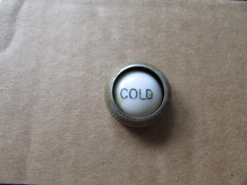 """VTG Cold Porcelain Brass Faucet Knob Insert 3//4/"""" KH Germany"""