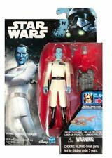 HASBRO STAR WARS GRAND ADMIRAL THRAWN 3.75 FIGURE ORG BLUE & RED MEDAL MISPRINT Figurki akcji i z filmów