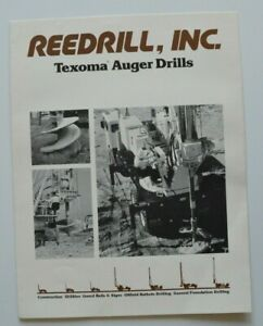 REEDRILL-Texoma-Auger-Drills-1982-dealer-brochure-catalog-English-USA