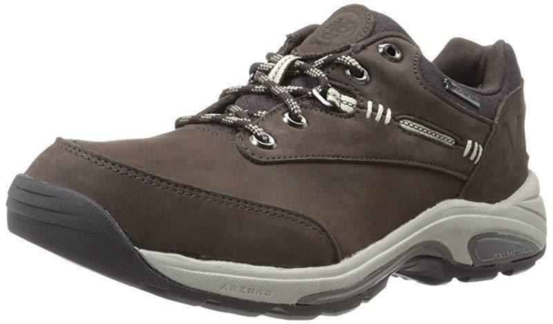 New Balance de mujer W1069 Zapato de senderismo, Marrón, 7 D nos