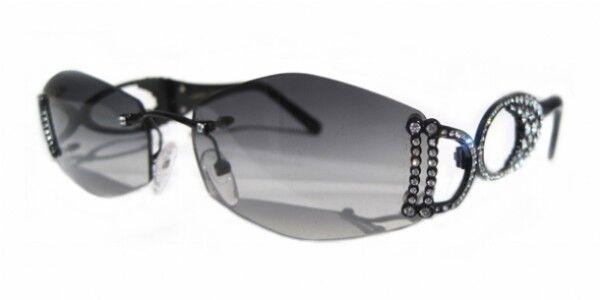 d790f17e8c39 CAVIAR Sunglasses 6310 C24 Champagne Series Black Austrian Crystals Italy  for sale online | eBay