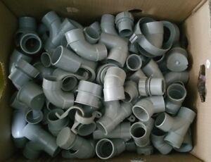 Oltre-200-X-SOLVENTE-raccordi-dei-rifiuti-grigio-32mm-40mm-1-1-4-034-1-1-2-034-marche-MIX-MIX