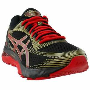 ASICS-GEL-Nimbus-21-Casual-Running-Shoes-Black-Mens