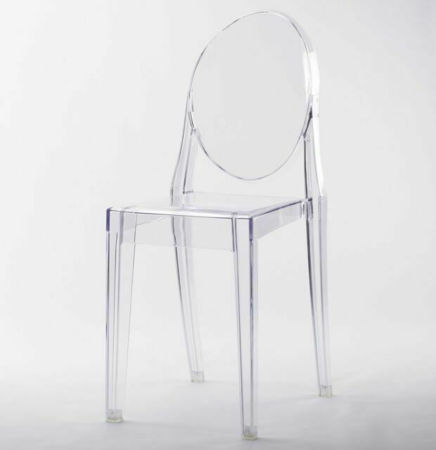 Dining Chair Transparent Contemporary