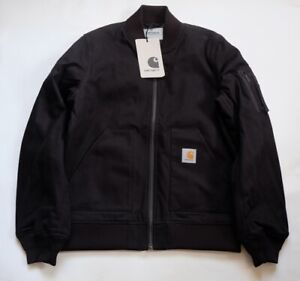 clearance sale top quality look out for Details about Mens carhartt industrial jacket (black rigid) size m val 170  €- show original title