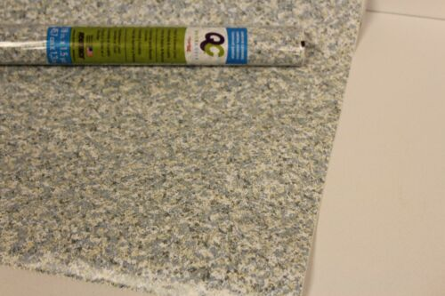 Nouveau Rouleau Tiroir Armoire étagère Liner papier Sticks on contact Doublure Granite Gray