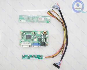 LCD-Controller-Board-DIY-Kit-NTA92C-VGA-DVI-Audio-Power-Adapter-Lvds-Inverter