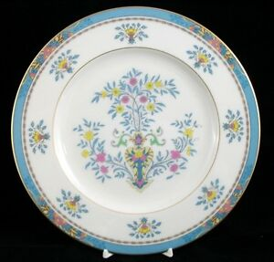 Lenox-BLUE-TREE-Luncheon-Plate-Gold-Backstamp-B300-GREAT-CONDITION