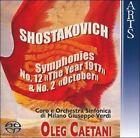 "Shostakovich: Symphonies No. 12 ""The Year 1917"" & No. 2 ""October"" Super Audio CD (CD, Jan-2007, Arts Music)"