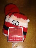 Santa Claus Plush Socks Christmas Stockings One Size Fits Most Plush Soft