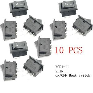 20pcs-3A-250V-Car-Dashboard-G130-SPST-2PIN-ON-OFF-Rectangle-Boat-Rocker-Switch
