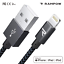 Rampow-1-m-Lightning-Cable-MFI-USB-Cable-de-charge-rapide-pour-iPhone-12-11-x-8-se-iPad miniature 1
