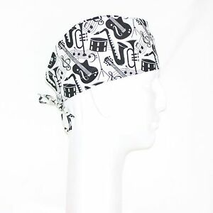 Monopoly Theme on White Scrub Hat