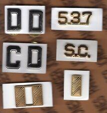 POLICE Sheriff Law Enforcement Officer 6 piece c/b badge set