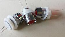 4x 230V LED MEGA GROßE IN CHROMFASSUNG + NIEDERSPANNUNG  8852