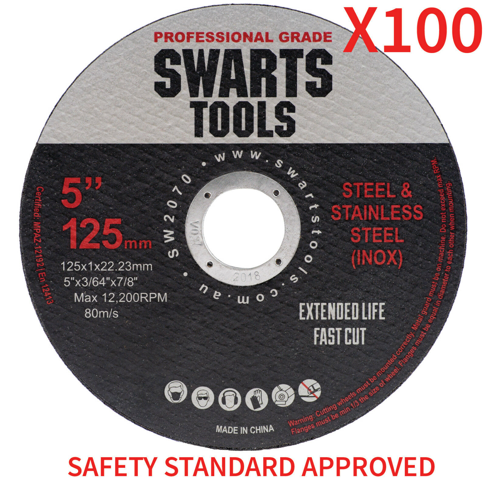 Metalworking Supplies 125mm 5