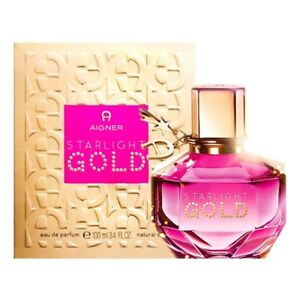 Details zu Etienne Aigner Starlight Gold EDP Eau De Parfum for Women 100ml New & Sealed