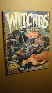 WITCHES-TALES-1-FEB-1975-RARE-EERIE-PUBLICATION-FAMOUS-MONSTERS