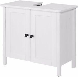 Details zu Bad weiß Waschbeckenunterschrank weiß, Landhaus,Breite 65 cm UVP  79,99 € B620958