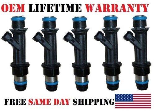 """5 Fuel Injectors /""""OEM/"""" 25380534 Delphi for 2004/_2007 Chevy Colorado 3.5L 3.7L I5"""