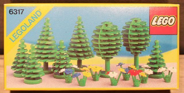 Lego Klassisch Stadt 6317 Bäume und Blumen Lego Land Neu Ovp
