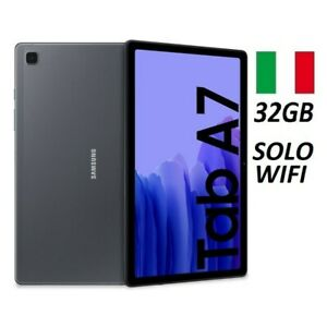 """SAMSUNG GALAXY TAB A7 2020 SM- T500 10.4"""" 32GB SOLO WIFI GREY GARANZIA ITALIA"""