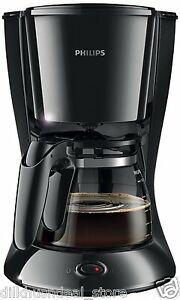 Philips HD7447/20 Daily Collection 15 Cups Coffee Maker (Black)
